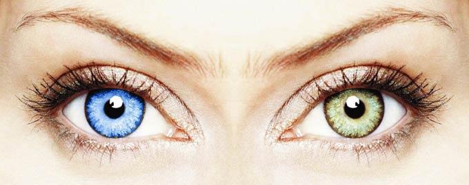 почему у людей разный цвет глаз