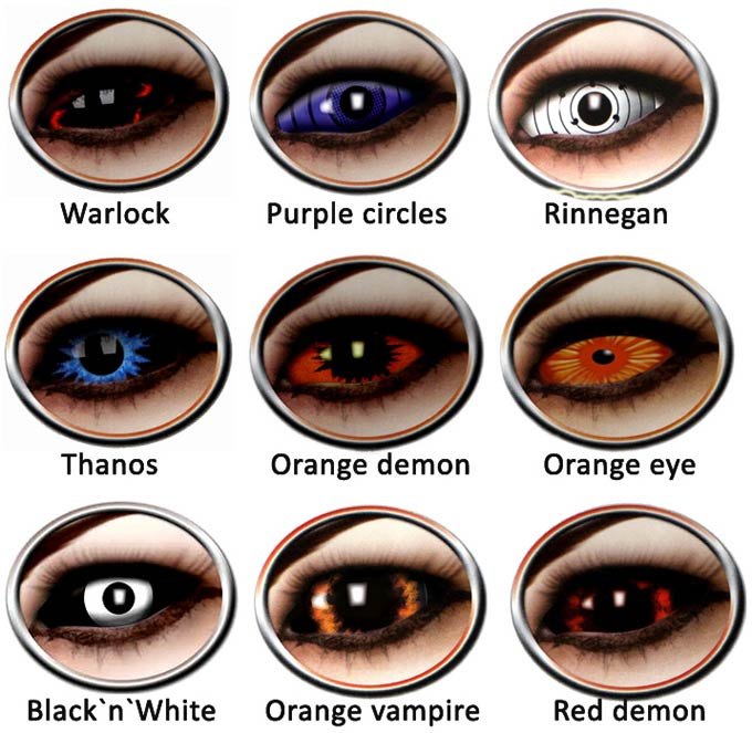 разнообразие склеральных линз