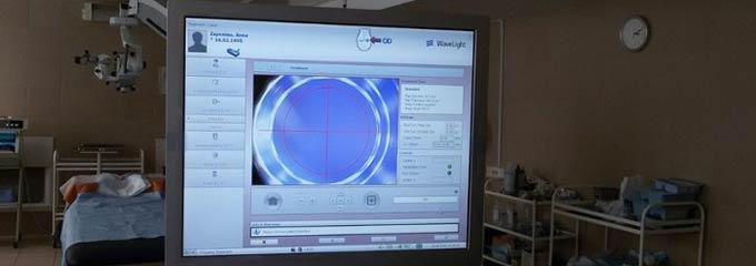 кератопластика при помощи фемтосекундного лазера