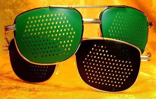 очки-тренажеры при глаукоме