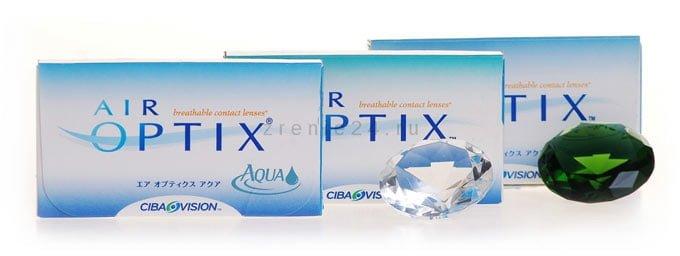 контактные линзы air optix