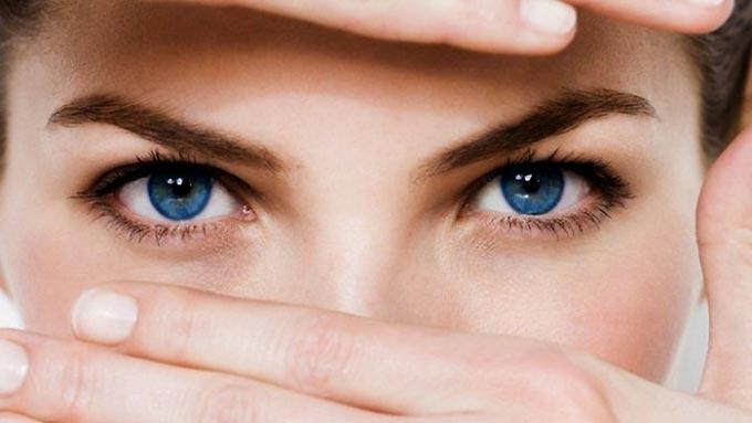 тест на светочувствительность глаз