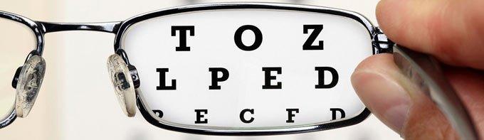 визометрия глаза