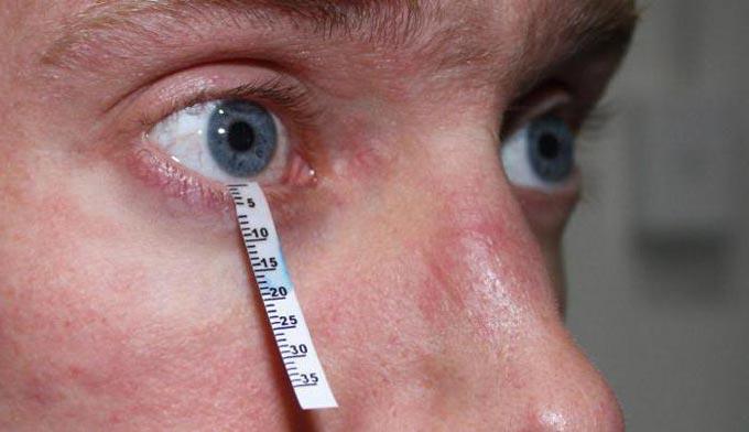 диагностика сухого глаза