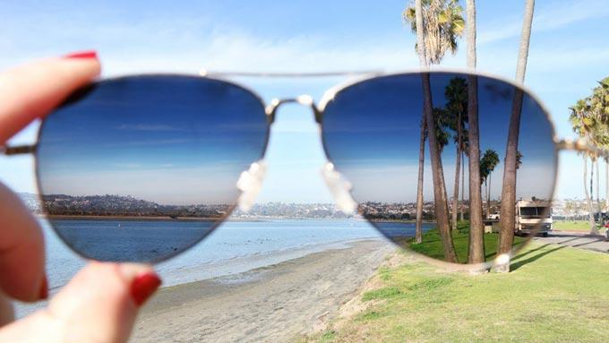 очки от солнца с поляризацией