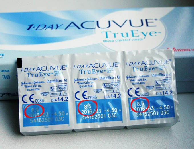 как выбрать радиус кривизны контактных линз