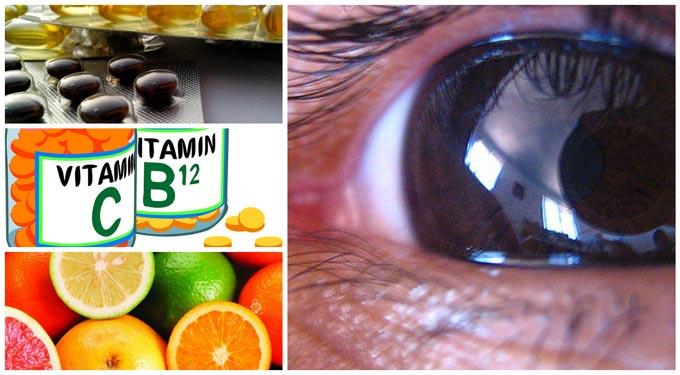 витамины при катаракте