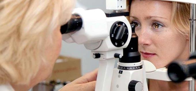 проведение биомикроскопии