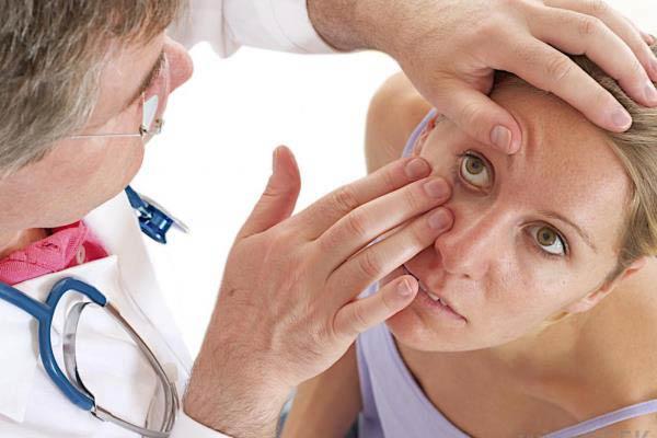 диагностика конъюктивита