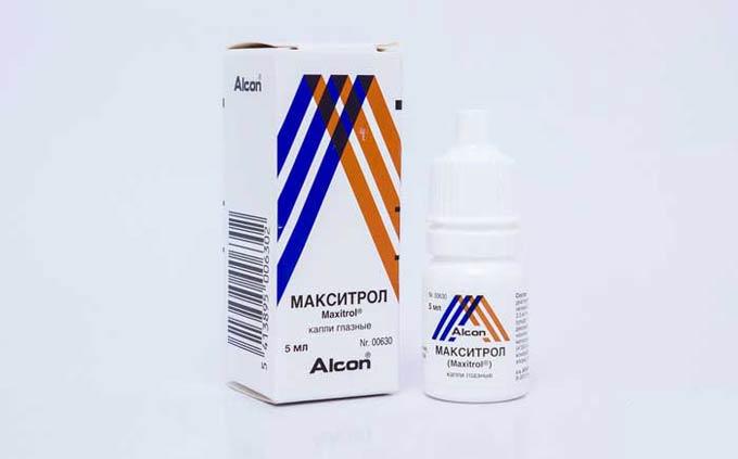 лечение блефарита макситролом