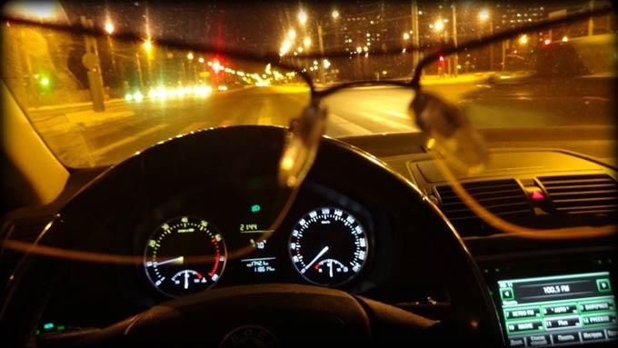 водительские очки для ночного вождения