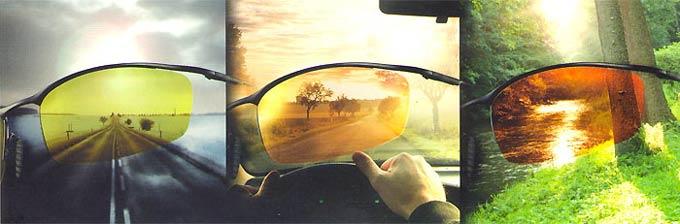 как выбрать водительские очки
