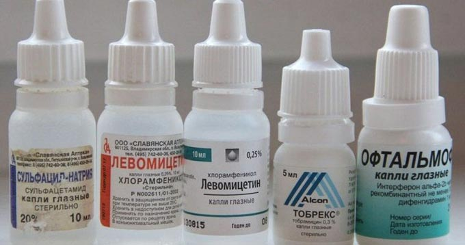 Капли при конъюнктивите бактериального и вирусного типа, обзор