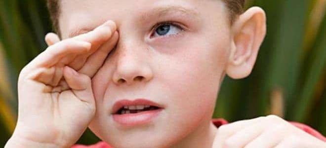 лопнувшие капилляры у детей