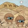 песок в глазах