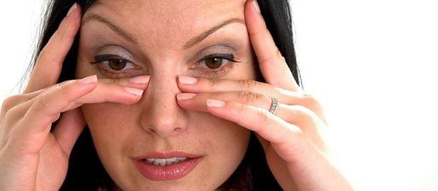 симптомы песка в глазу