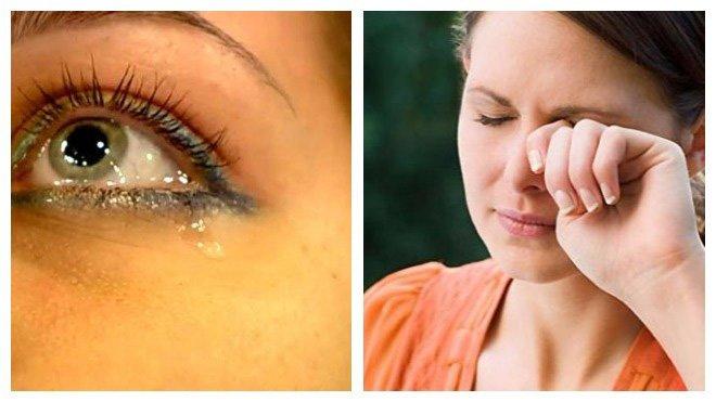 причины песка в глазах