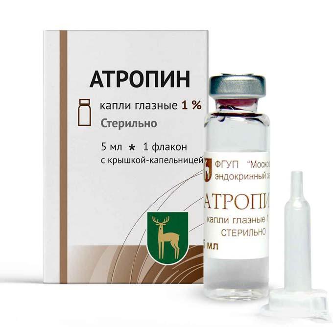 атропин при глаукоме