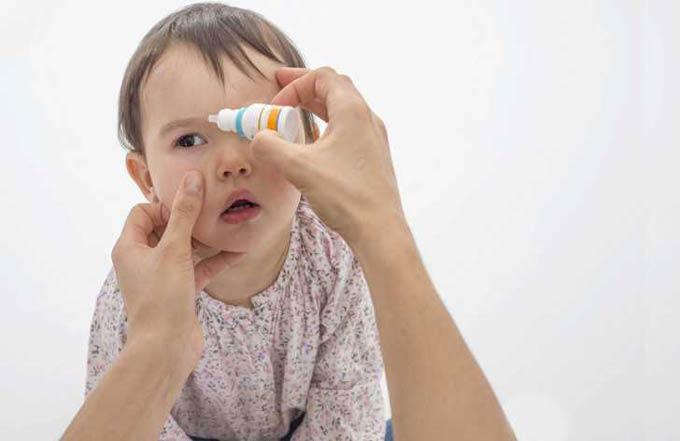капли в глаза для детей