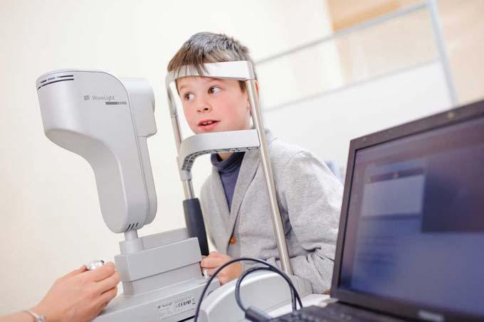диагностика врожденной миопии