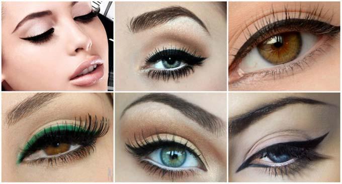 макияж при нависшем веке