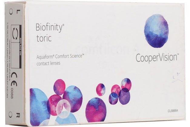 Biofinity Toric фирмы CooperVision