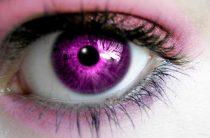 Бывают ли люди с фиолетовыми глазами
