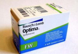 Обзор контактных линз Optima