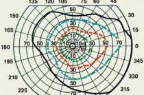 Исследование границы полей зрения при помощи периметрии