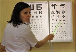 Проверяем зрение с помощью таблицы Орловой