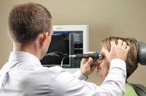 Обследование зрительного центра глаза с помощью УЗИ